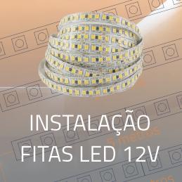 Imagem Como instalar Fitas LED 12V?