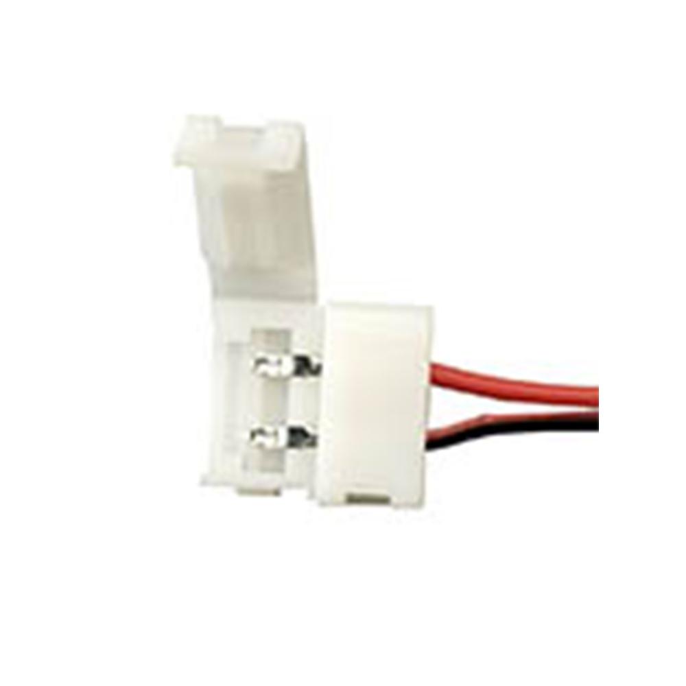 CONECTOR FITA 12V C/ RABICHO 8MM/10MM IP20